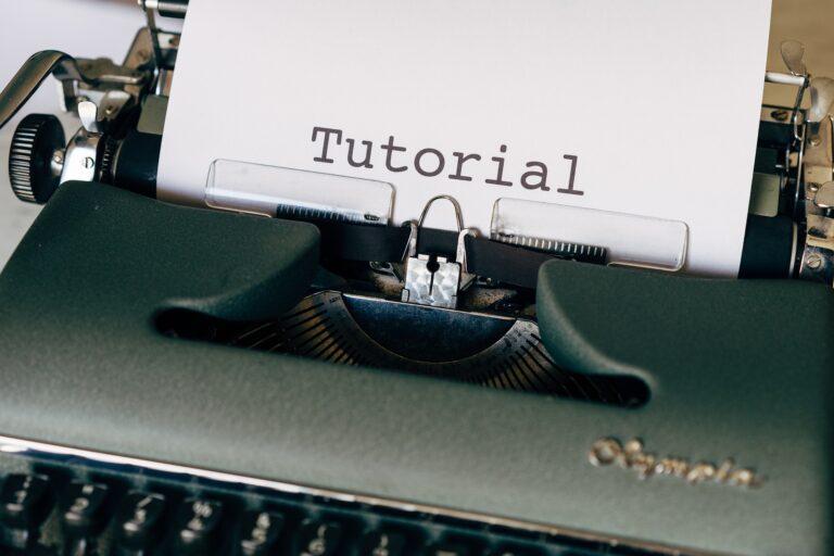 Die ersten Schritte auf dem Weg zu benutzerfreundlichen Handbüchern